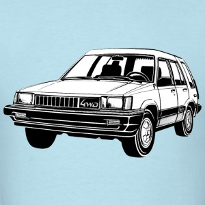 Toyota Tercel 4WD illustration - Men's T-Shirt
