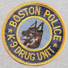 Boston Police K-9 Apparel T-shirts Sweatshirts