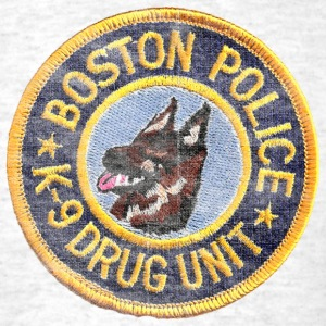 Boston Police K-9 Apparel T-shirts T-Shirts - Men's T-Shirt