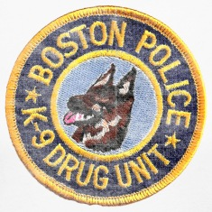 Boston Police K-9 Apparel T-shirts Long Sleeve Shirts