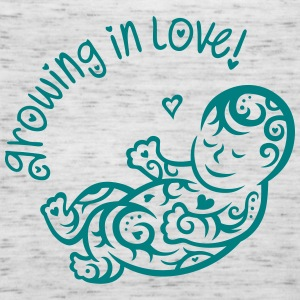 Growing in Love Tanks - Women's Flowy Tank Top by Bella