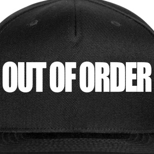 Out Of Order - Snap-back Baseball Cap
