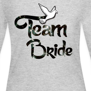Team Bride Long Sleeve Shirts - Women's Long Sleeve Jersey T-Shirt