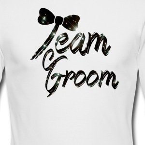 Team Groom Long Sleeve Shirts - Men's Long Sleeve T-Shirt by Next Level