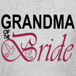 Grandma Of The Bride Long Sleeve Shirts - Women's Long Sleeve Jersey T-Shirt