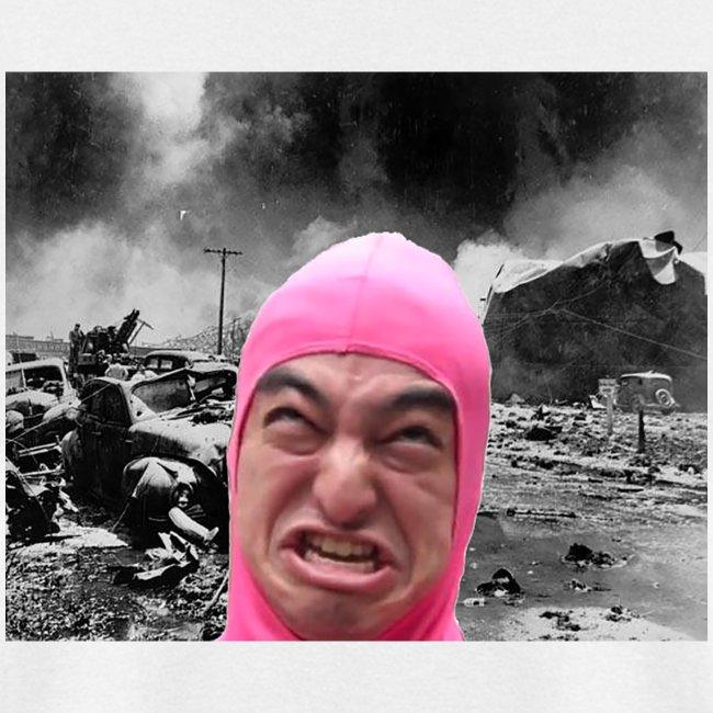 Pink Guy Destroys All