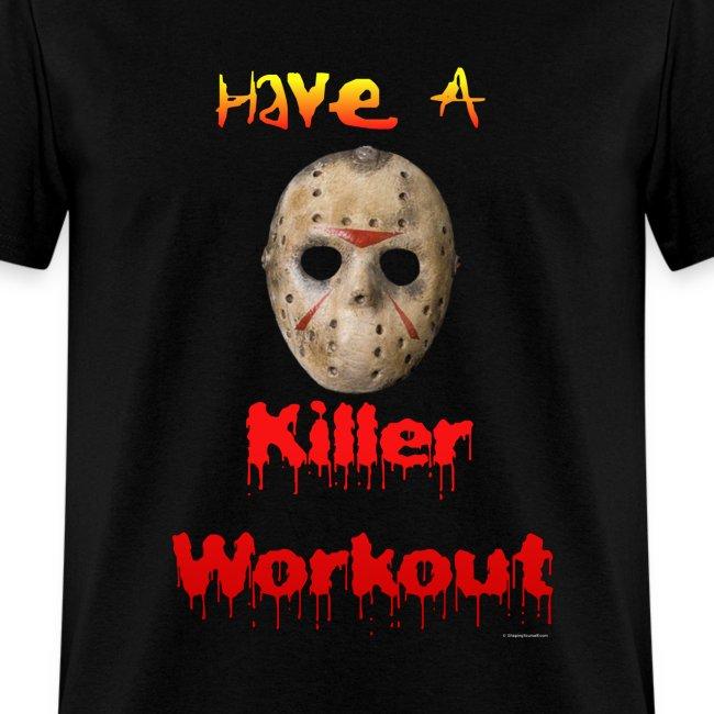Jason Horror Killer Workout T