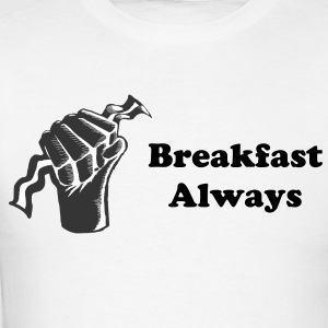 Breakfast Always Logo Mens Shirt - Men's T-Shirt