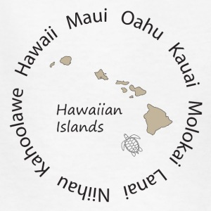 Hawaiian Islands - Kids' T-Shirt
