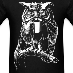 Coffee Owl T-Shirts - Men's T-Shirt