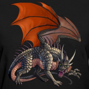 Menacing Dragon Women's T-Shirts - Women's T-Shirt