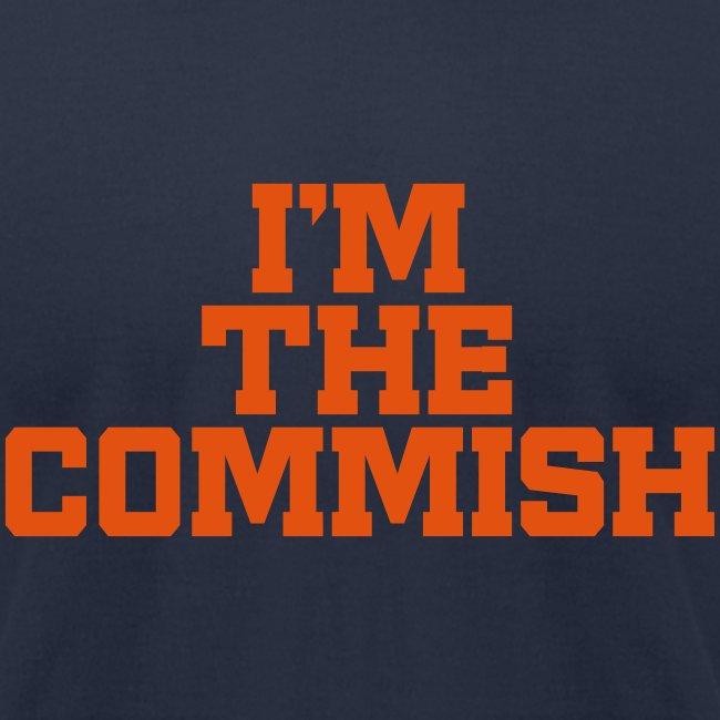 I'm the Commish