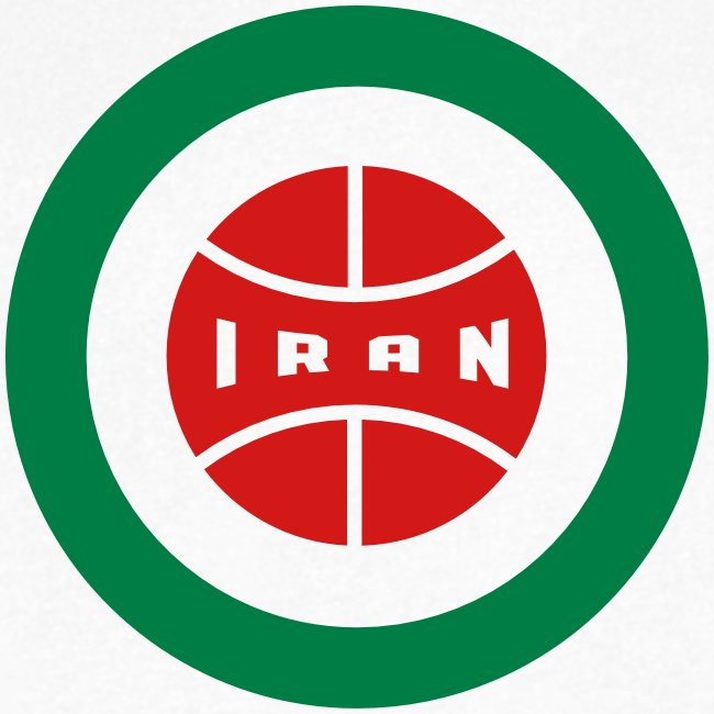 Iran Insignia - Vneck