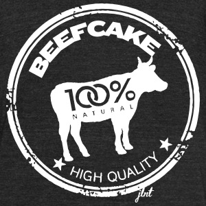 BeefCake 3.0 - 100% Natural T-Shirts - Unisex Tri-Blend T-Shirt by American Apparel