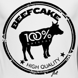 BeefCake 3.0 - 100% Natural Long Sleeve Shirts - Men's Long Sleeve T-Shirt by Next Level