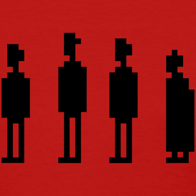 The Four Witnesses - Women Red