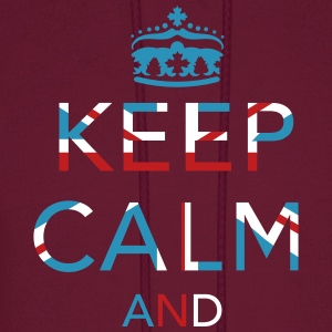 Keep calm ... Union Jack  Hoodies - Men's Hoodie