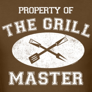 Property of Grill Master T-Shirts - Men's T-Shirt