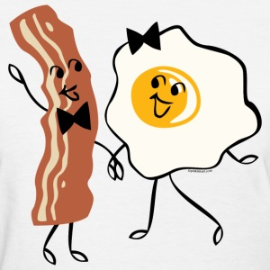 Bacon N Egg Lover Women's T-Shirts - Women's T-Shirt
