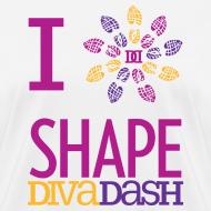 Design ~ I Love Shape Diva Dash T