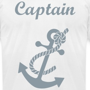 Captain - Men's T-Shirt by American Apparel