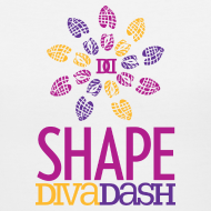 Design ~ Diva Dash Logo V Neck
