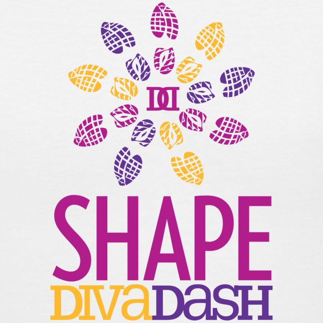 Diva Dash Logo V Neck