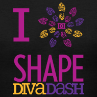 Design ~ I Love Diva Dash V Neck