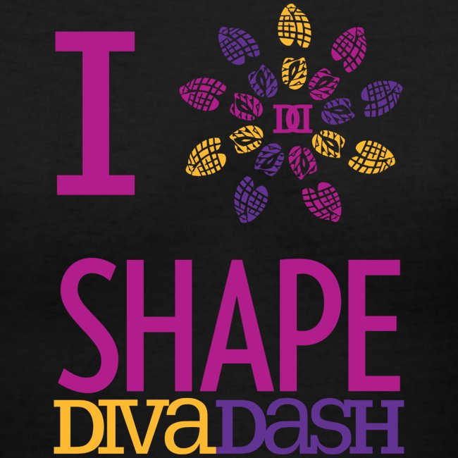 I Love Diva Dash V Neck