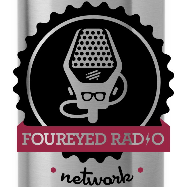 Four Eyed Radio Water Bottle