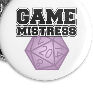 Game Mistress Buttons - Small Buttons