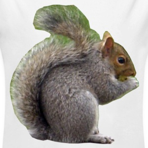 Squirrel Baby Bodysuits - Long Sleeve Baby Bodysuit