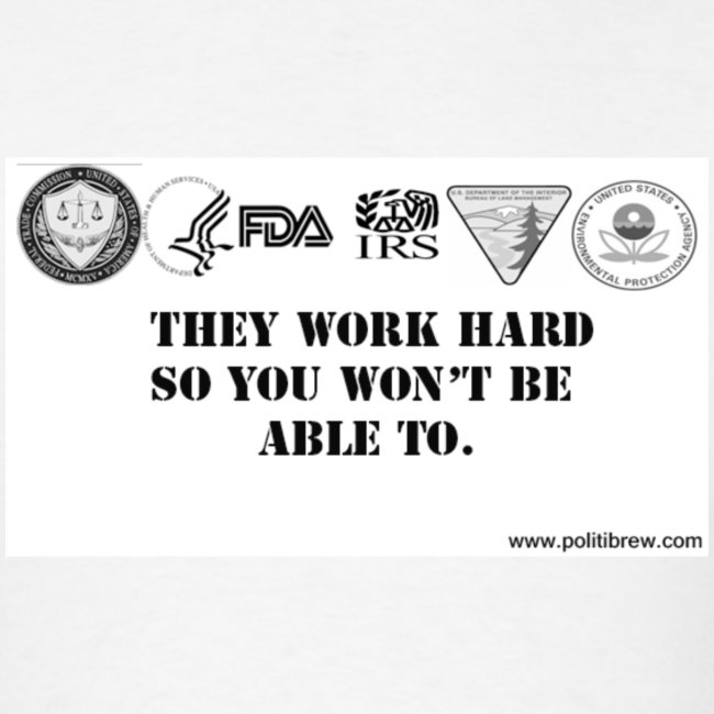 They work hard so you won't be able to.