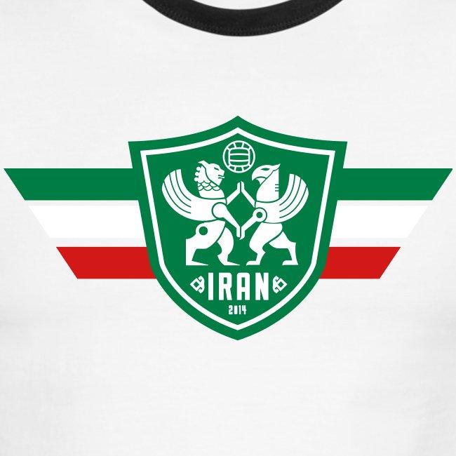 Iran Flag - Men's Ringer