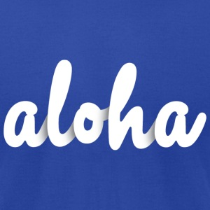 aloha T-Shirts - Men's T-Shirt by American Apparel