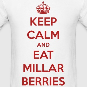 Keep Calm and Eat Millar Berries (Men's) - Men's T-Shirt