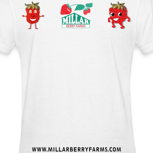 Keep Calm and Eat Millar Berries (Women's T)