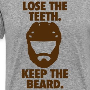 Playoff Beard T-Shirts - Men's Premium T-Shirt
