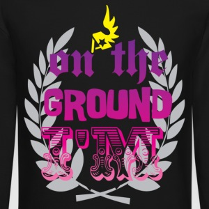 on the ground i'm Long Sleeve Shirts - Crewneck Sweatshirt