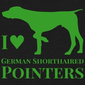 I Love German Shorthaired Pointers - Women's T-Shirt