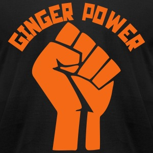 Ginger Power T-Shirts - Men's T-Shirt by American Apparel