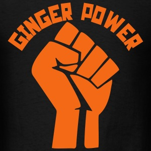 Ginger Power T-Shirts - Men's T-Shirt