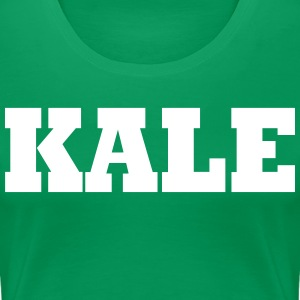 KALE VEGAN-Healthy Eating Women's T-Shirts - Women's Premium T-Shirt