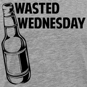 Wasted Wednesday T-Shirts - Men's Premium T-Shirt