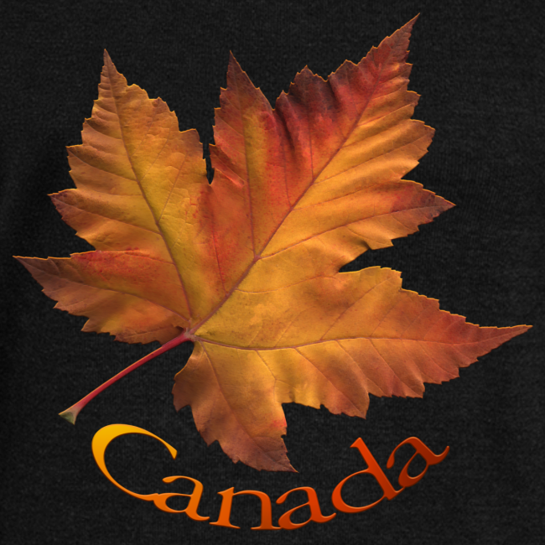 Women's Canada Sweatshirt Maple Leaf Souvenir Shirt