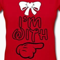 i_m_with_her22 Women's T-Shirts