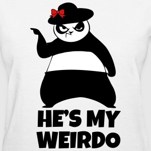 SHE'S MY WEIRDO Couple - Women's T-Shirt