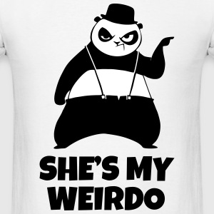 SHE'S MY WEIRDO Couple - Men's T-Shirt