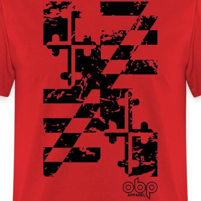 Maryland Flag Shirt (Distressed)