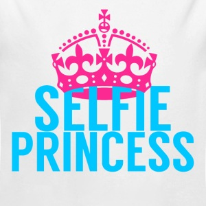 Selfie Princess - Long Sleeve Baby Bodysuit